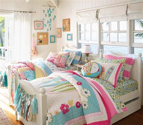 girl bedding the north shore bedding from pottery barn kids is the