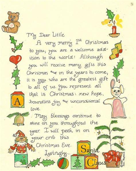 letter santa christmas christmas letter