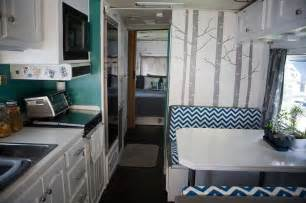 camper renovations rv motorhome interior remodel bus pinterest trees