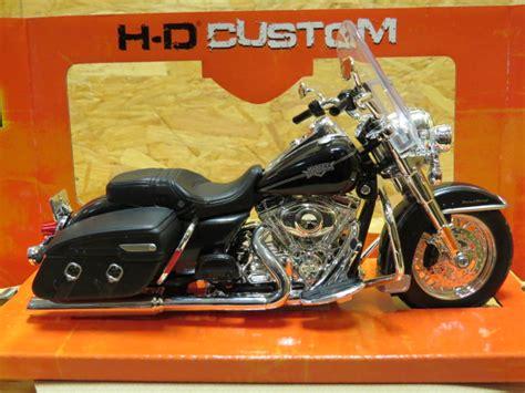 1 12 Maisto Harley Davidson Flhrc Road King Glide Motorcycle Model Car harley davidson flhrc road king classic 1 12