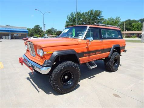 Jeep Chief 1979 Buy Used 1979 Jeep Chief In Lindale