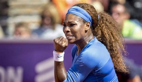 Serena Syari By La serena williams defeats johanna larsson to win swedish open black news
