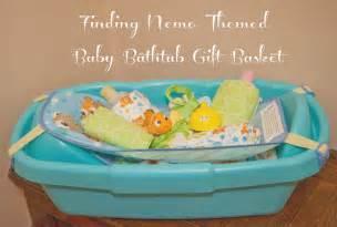 finding nemo baby bathtub gift basket from disney baby