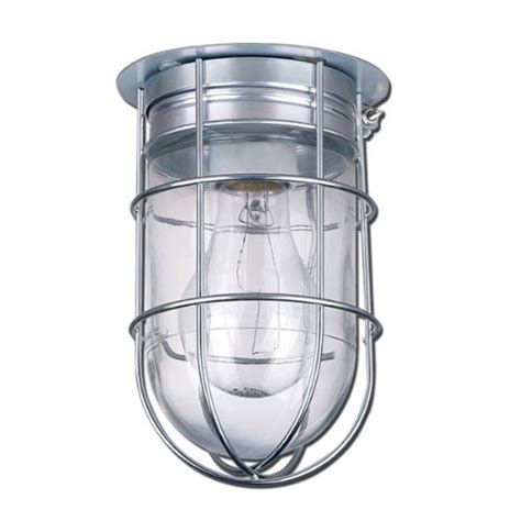 canarm ceiling wall barn light with cage