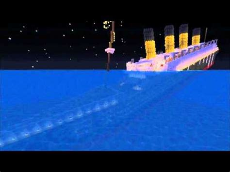Titanic Did You Soul Project R M S Titanic Sinking Minecraft Project