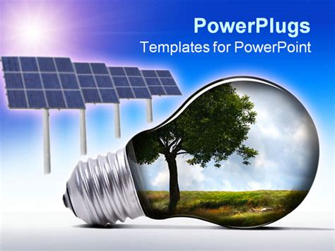 Energy Powerpoint Templates by Solar Panel Powerpoint Template Free Energy Powerpoint