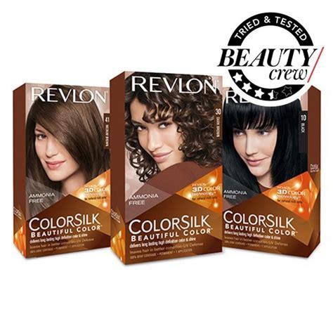 revlon hair color reviews revlon colorsilk review crew