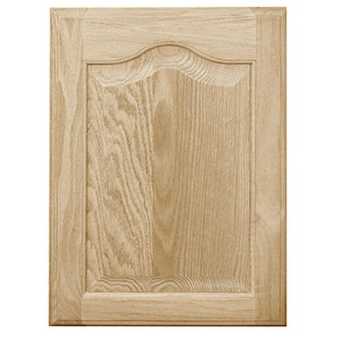 pace 16 quot w x 28 quot h oak cathedral panel cabinet door at