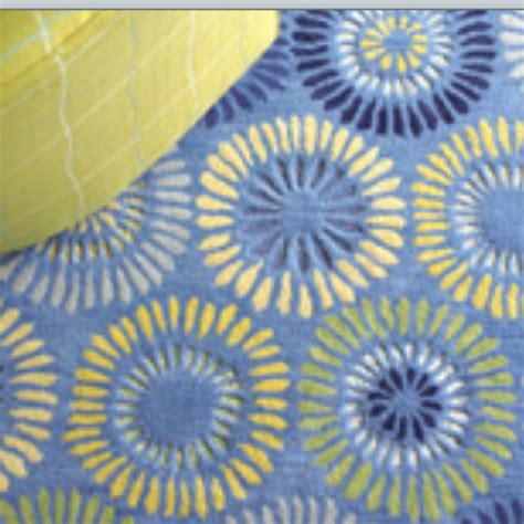 Yellow And Blue Rugs by Company C Wool Rug Yellow And Blue