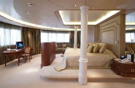 Moonlight Interiors by Luxury Yacht Moonlight Ii Master Suite Yacht Charter