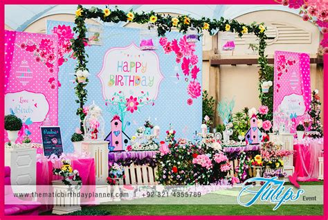 garden theme birthday decoration ideas in pakistan