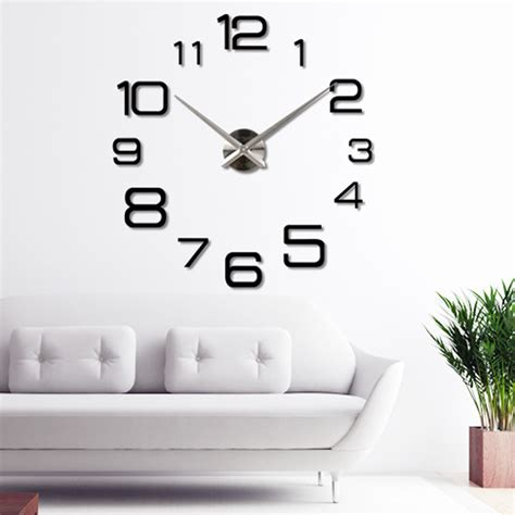 home decor for sale luxury large wall clock 3d sticker big 3d diy home decor wall clocks luxury large wall watch