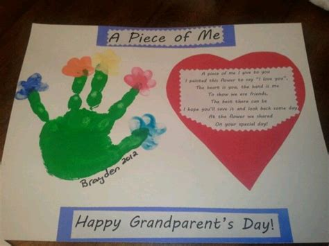 grandparents day craft ideas for grandparent s day craft from my preschoolers s