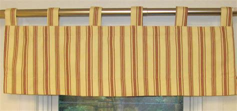 Tab Top Valances Weathermate Tab Top Panels Stripe And Solid Thermalogic