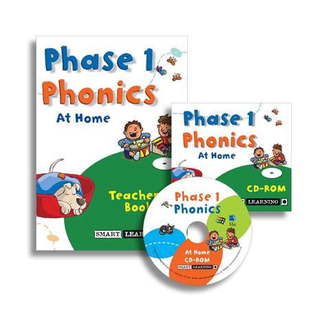Smart Series Science For 4 5 Year phase 1 phonics disc 1 at home