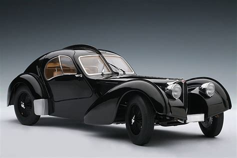 bugatti atlantic autoart 1938 bugatti 57sc atlantic black w disc wheels