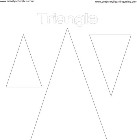 triangle pattern coloring page kids shapes coloring pages pattern printables