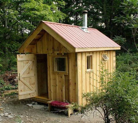outdoor wood burning sauna plans free