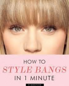 how to style hair toward face the best and worst bangs for square face shapes square