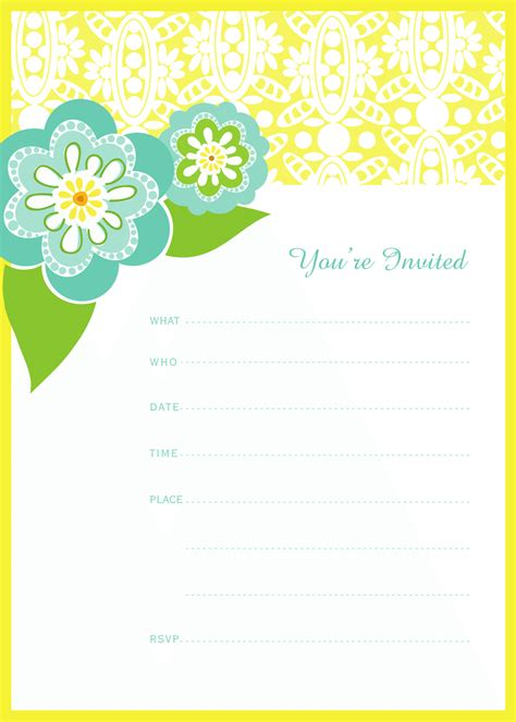 printable invitation party get free printable tea party invitations tea party