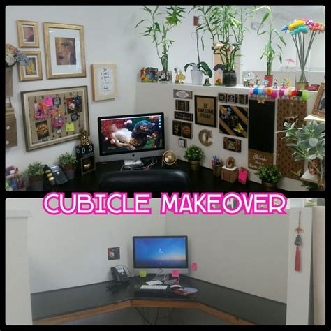 cubicle decor with dollar tree frames and printed lilly best 25 cubicle accessories ideas on pinterest office