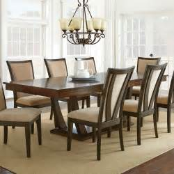 Silver Dining Room by Steve Silver Gabrielle 7 Piece Dining Room Set In Medium