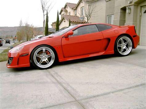 fast pontiac cars pretty cool custom modified pontiac fiero pontiac