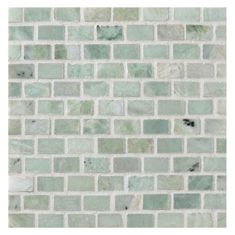 ming green marble tile homesfeed mini brick mosaic tile polished ming green marble
