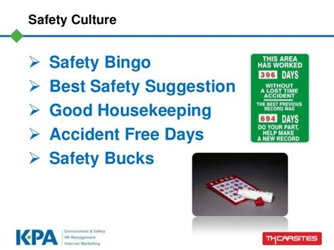 safety bucks how to develop a positive safety culture