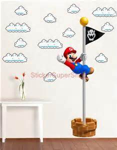 Mario Bros 10 11 12inchi Softcase Tas Cover Laptop Ultra Netbook mario bros clouds set decal removable wall sticker home decor ebay