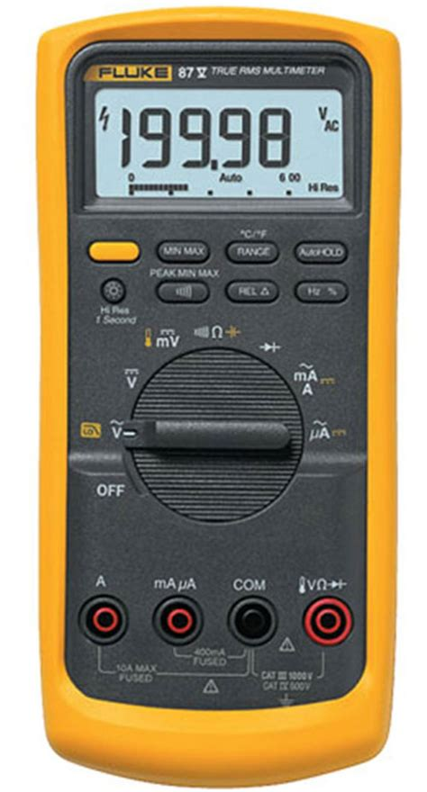 Multimeter Fluke 83 best digital multimeter fluke 87v review