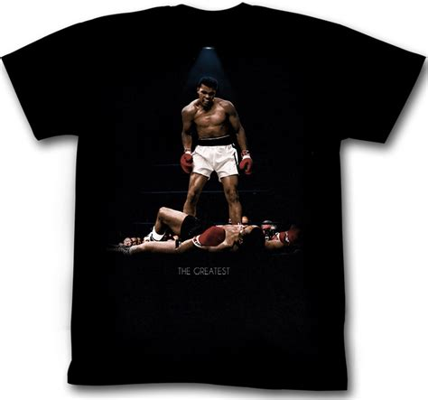 Muhammad Ali Black Shirt muhammad ali t shirt all again black shirt