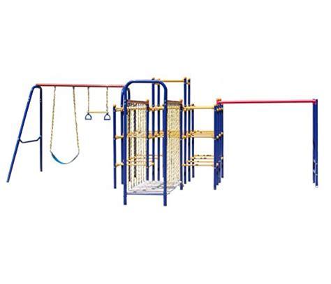 troline swing set combo skywalker sports jungle gym combo complete with jungle gym
