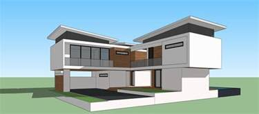 sketchup pro 2015 create modern house youtube