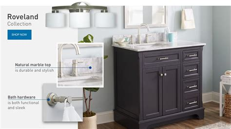 lowes bathroom ideas shop bathroom collections d 233 cor at lowe s