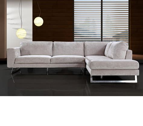 modern fabric sectional dreamfurniture com divani casa milano modern fabric