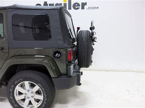 Ski Rack For Jeep Wrangler 2016 Jeep Wrangler Unlimited Spare Tire Bike Racks Thule