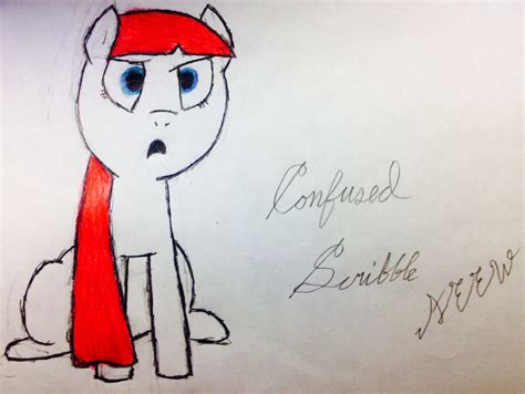 Udderly Confused 2 by Utterly Confused Scribble By Viking Hooves On Deviantart