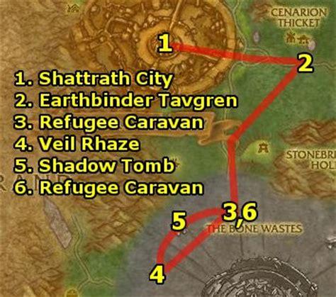 Wow Razorthorn Shelf by Ding85 S Horde Terokkar Forest Guide