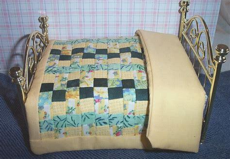 handmade genuine patchwork quilt bed size dolls