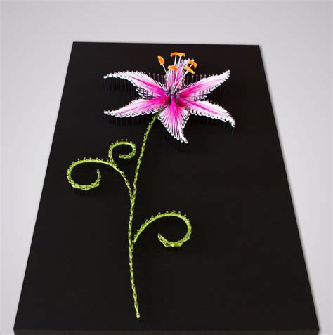 string pattern validation string art pattern instructions quot the lily quot diy string