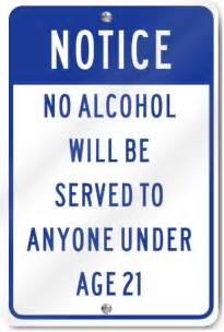 in color age limit notice no served to anyone age 21 sign ebay