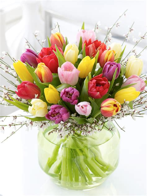 Pictures Of Tulips In Vases by Bunches Archives Ferns N Petals