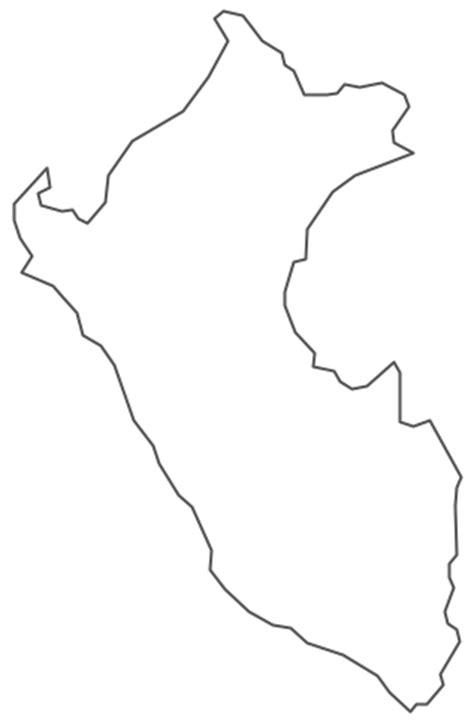 geo map south america peru