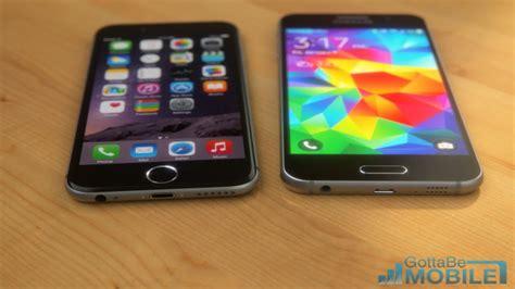 new samsung galaxy s6 vs iphone 6 amazing concept 2015