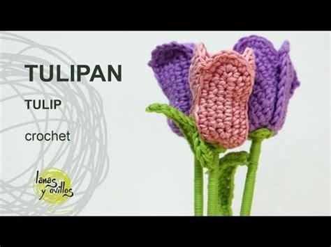 crochet tutorial dompet rajut motif bunga tulip fl download how to crochet tulip merajut bunga tulip
