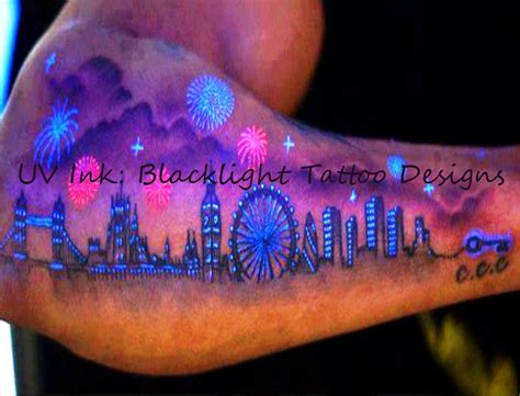 uv ink tattoo uv ink blacklight designs august 2014