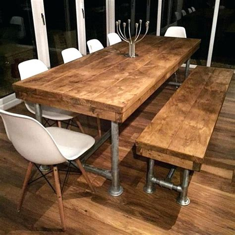 Rustic Dining Tables Melbourne Industrial Dining Table Melbourne Home Decorations Idea
