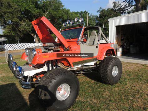 monster jeep gorgeous 1984 jeep cj7 custom build monster truck