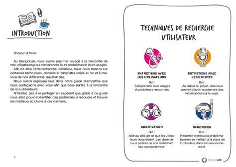 design thinking user research guide d empathie user research design thinking